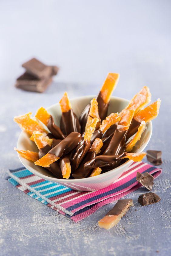 maridaje naranjas con chocolate navidad